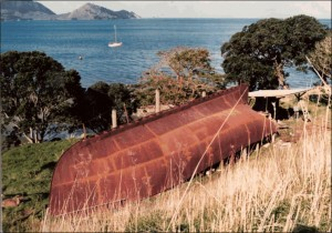 The hull at Little Munroe Bay