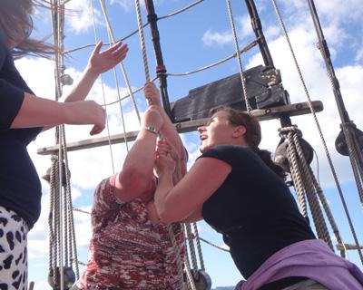 hoist-sails