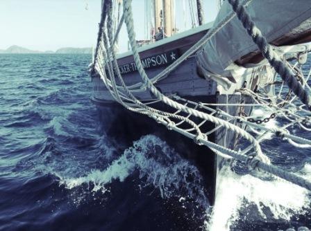 Sailing Tucker