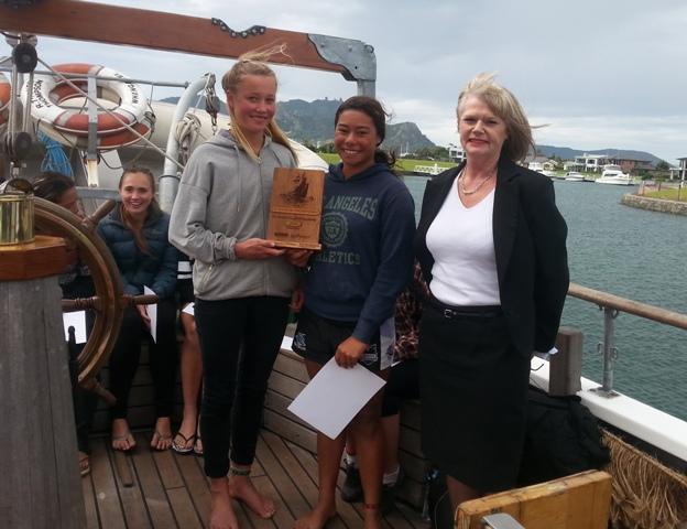Opononi Area School's Fern Donovan & Mihiora Waipouri win the 2015 Taitokerau Challenge