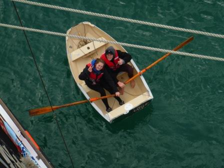 Riding bowsprit